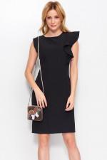 Makadamia M400 sukienka czarny