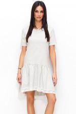 Numinou NU75 sukienka beżowy melanż