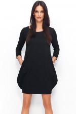 Numinou NU80 sukienka czarny