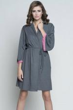 Italian Fashion Ellen r.3/4 szlafrok c.melanż/róż