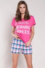 Italian Fashion Karena kr.r. kr.sp. piżama róż
