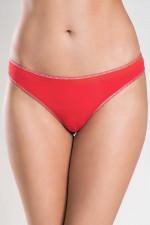 Italian Fashion Uma string Stringi czerwony