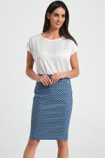 Ennywear 250089 Spódnica niebieski/biały