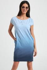 Ennywear 250039 sukienka niebieski