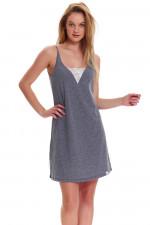 Dn-nightwear TM.9418 koszula dark grey
