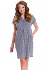 Dn-nightwear TCB.9453 koszula dark grey