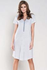Italian Fashion Wanessa kr.r. Koszula biały/melanż