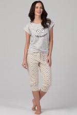 Rossli SAL-PY-1092 piżama szary
