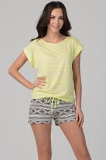 Rossli SAL-PY-1093.II piżama cytrynowy