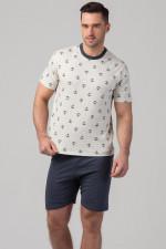 Rossli SAM-PY-113 piżama ecru
