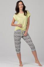 Rossli SAL-PY-1093.I piżama cytrynowy