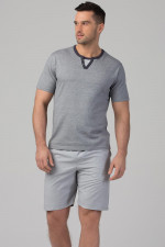 Rossli SAM-PY-116 piżama szary