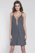 Italian Fashion Mery ws.r. Koszulka ciemny melanż