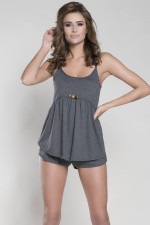 Italian Fashion Mirella ws.r. kr.sp. piżama ciemny melanż