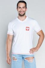 Italian Fashion T-shirt Polska 2 Krótki rękaw biały
