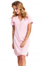 Dn-nightwear TCB.9505 Koszula sweet pink