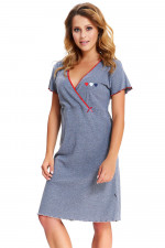 Dn-nightwear TCB.9525 koszula dark grey
