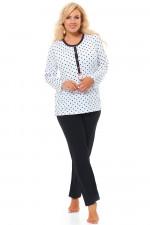 Dn-nightwear PB.9547 piżama white