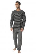 Rossli SAM-PY117 II piżama szary melange