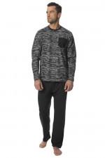 Rossli SAM-PY120 piżama grafitowy