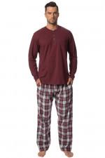 Rossli SAM-PY123 II piżama bordowy