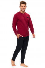 Dn-nightwear PMB.9509 piżama dark red