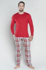 Italian Fashion Rikardo dł.r. dł.sp. piżama czerwony