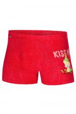 Cornette Walentynkowe Kiss Me bokserki czerwony