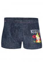 Cornette Walentynkowe Kiss Me 2 bokserki jeans
