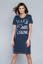 Italian Fashion Nevada kr.r. Koszula granat
