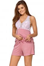 Babella Joanna piżama pastelowy róż
