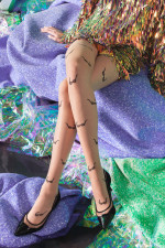 Gabriella Glasses 20 Den code 450 Wzorzyste