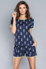 Italian Fashion Oresta kr.r.kr.sp. piżama granat