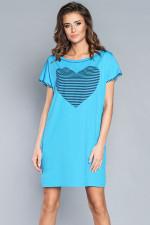 Italian Fashion Dekada kr.r. koszula turkus