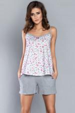 Italian Fashion Pola ws.r. kr.sp piżama druk/melanż