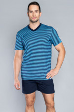Italian Fashion Gary kr.r. kr.sp. piżama granat