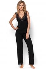 Nipplex Clara piżama czarny