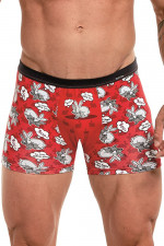 Cornette Tattoo 500+ 280/174 bokserki czerwony