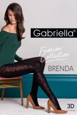 Gabriella Brenda code 439 Wzorzyste nero