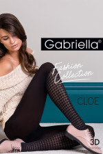 Gabriella Cloe code 440 Wzorzyste nero