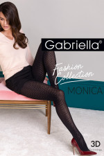 Gabriella Monica code 448 Wzorzyste nero
