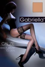 Gabriella Calze Exclusive 15 Den Code 201 Klasyczne beige