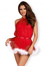 Obsessive Santastic dress kostium czerwony