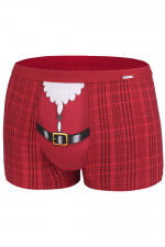Cornette Merry Christmas Belt bokserki czerwony
