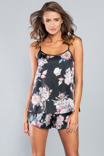 Italian Fashion Santorini w.r. kr.sp. piżama czarny