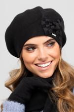 Kamea Almeria beret czarny