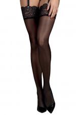 Obsessive Mixty stockings Klasyczne czarny