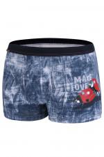 Cornette Walentynkowe Make love 010/61 bokserki jeans