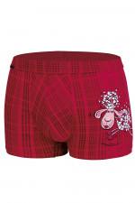 Cornette Walentynkowe Lovely sheep 010/57 bokserki czerwony