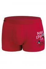 Cornette Walentynkowe Make love 2 010/62 bokserki czerwony